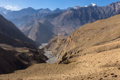 Río del khola de la panda Fotos de archivo