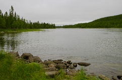 Río del norte Fotografía de archivo