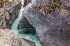 Río del norte de Saskatchewan Imagen de archivo