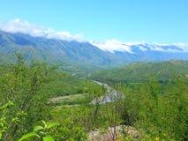 Río del paisaje Imagenes de archivo