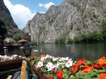 Río del paisaje foto de archivo libre de regalías