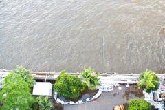 Río del phraya de Chao Imagen de archivo libre de regalías