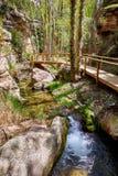 Río del pueblo de Cuenca Villar del Humo Imagen de archivo libre de regalías