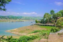 Río del songgaria del paisaje fotos de archivo libres de regalías