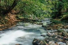 Río del sulfuro de hidrógeno Foto de archivo libre de regalías