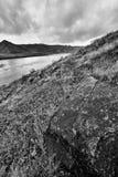 Río del sur de Saskatchewan del Riverbank foto de archivo libre de regalías