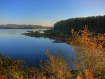 Río del vidrio (el río Columbia) Foto de archivo