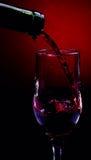 Río del vino rojo Fotografía de archivo libre de regalías