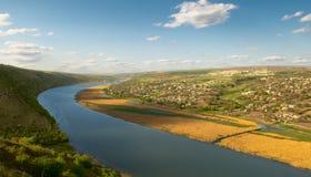 Río Dnister imagenes de archivo