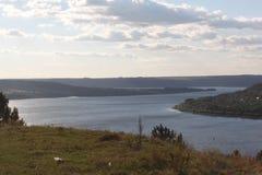 Río Dnister fotografía de archivo libre de regalías