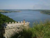 Río Dnister fotos de archivo