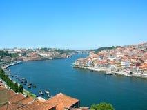 Río Douro de Oporto Fotos de archivo