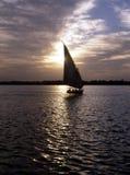 Río el Nilo Imagen de archivo libre de regalías
