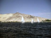 Río el Nilo Imágenes de archivo libres de regalías