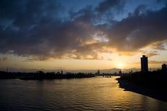 Río el Rin Fotografía de archivo