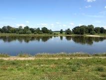 Río Elbe fotografía de archivo