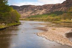 Río Elchaig Imagen de archivo libre de regalías