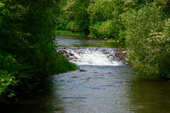 Río en Alsacia fotos de archivo