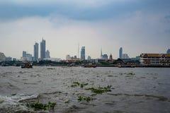 Río en Bangkok imágenes de archivo libres de regalías