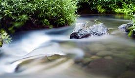 Río en campo Fotos de archivo
