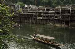 Río en Fenghuang Fotos de archivo libres de regalías