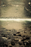 Río en invierno Fotografía de archivo libre de regalías