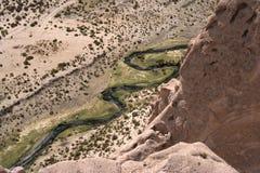 Río en la reserva nacional andina de Eduardo Fotos de archivo