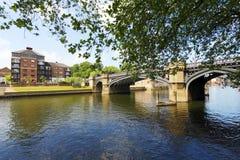 Río en la York Fotos de archivo