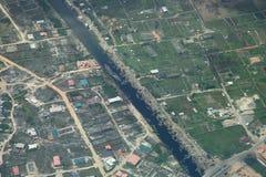 Río en Lagos Nigeria Imágenes de archivo libres de regalías