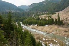Río en las montañas Fotos de archivo libres de regalías