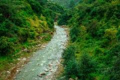 Río en Lohaghat imágenes de archivo libres de regalías