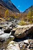 Río en Piedmont Fotografía de archivo libre de regalías
