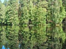 Río en Rusia central Fotografía de archivo libre de regalías