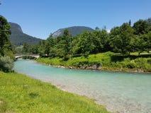 Río en Salzburg Fotografía de archivo libre de regalías