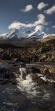 Río en Sligachan Skye Imagen de archivo