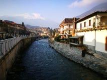 Río en Turín Foto de archivo libre de regalías