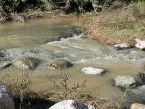 Río fluído Foto de archivo libre de regalías