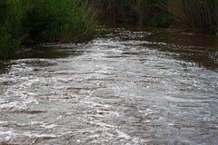 Río fluído Imagen de archivo libre de regalías
