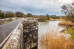 Río Frome en las lanas Fotos de archivo