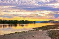 Río Gaula, Noruega Imagenes de archivo