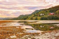Río Gaula, Noruega Fotos de archivo libres de regalías