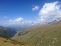 Río glacial en Svaneti superior Foto de archivo