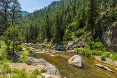 Río grande de Thompson Imagenes de archivo