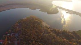 Río grande visto de abejón metrajes