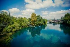 Río hermoso Imagen de archivo
