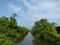 río hermoso de fotos naturales srilanquesas imagenes de archivo