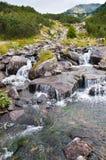 Río hermoso de la montaña de Pirin Imagen de archivo libre de regalías