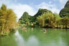 Río hermoso del yulong fotografía de archivo libre de regalías