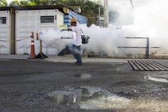 Río intensifica lucha contra el aegypti del aedes del mosquito de Zika Fotografía de archivo