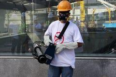 Río intensifica lucha contra el aegypti del aedes del mosquito de Zika Foto de archivo libre de regalías